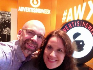 Here we are at Advertising Week XII (Click the picture to see the entire panel presentation)!