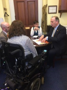 Honored we had the opportunity to have a half-hour meeting with Rep. Dan Kildee, who is a strong proponent for the MS cause.